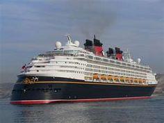 Disney Magic Cruiseship
