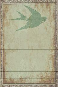 Printable Journal Card - Freebie!
