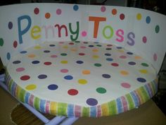 Penny toss on twister