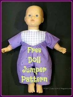 Joy's FREE Doll Jumper Pattern
