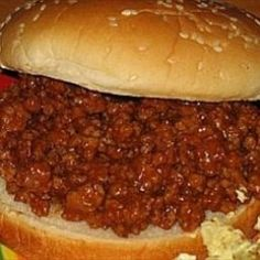 Homemade Sloppy Joes that are so delicious. Give them a try because they are delicious and so easy to make. If your looking for a recipe for easy sloppy joes that are delicious then you've found it because these sloppy joes are delicious. So be sure to check out this wonderful recipe. Also please show it to a friend or two.