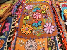 bordado peruano; peruvian embroided