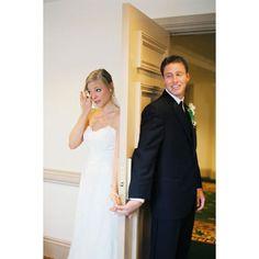 "Trend Alert: A Creative ""First Look""   Wedding Planning, Ideas & Etiquette   Bridal Guide Magazine"