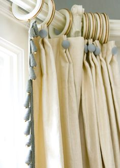 Drapery detail » Liz Williams Interiors