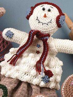 Snowman Towel Topper