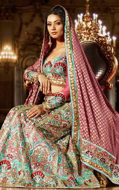 Indian Lehengas – The True Colors of Tradition!  #indiandresses #indiandesignerdresses #indiantraditionaldresses #indiandressesforgirls