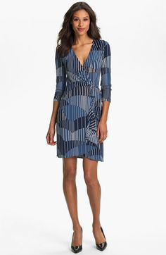 wrap dresses are SOOOO flattering