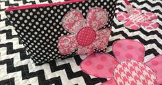 Riley Blake Blog Tour {Baby Play Mat Tutorial with Matching Zipper Pouch}