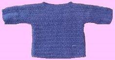World's Easiest Sweater (www.allfreecrochet.com)