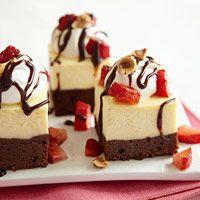 Cheesecake Brownie Bars