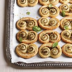 pesto pastries