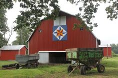 Mariner Compass Barn Quilt