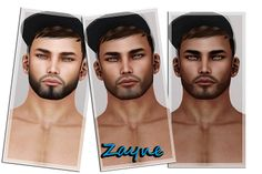 Zayne (SLINK, 4 Skins Tones, Facial Hair, Hairbase) | Flickr - Photo Sharing!