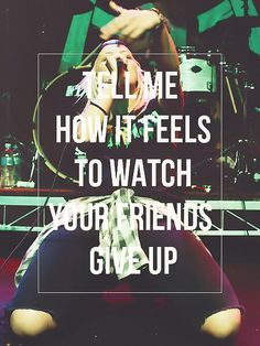 Tonight alive-lonely girl Love this song :)