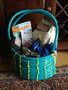 Garden Hose Gift Basket - Great idea from Proven Winners.