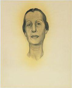 Georgia O'Keeffe. Portrait of Dorothy Schubart. 1936