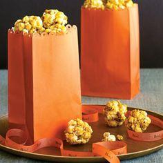 Bite-size Honey Popcorn Balls | MyRecipes.com