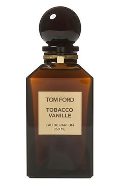 A rich, spicy fragrance: Tobacco Vanille by Tom Ford.