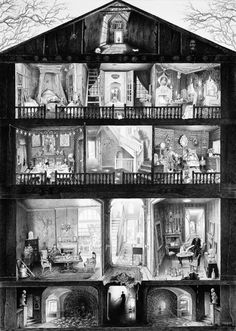 Haunted doll's house | Laurie Lipton