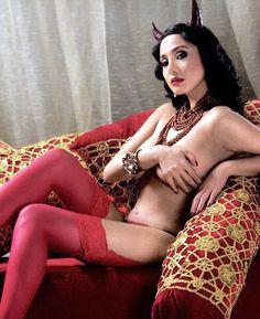 Sexy Filipina Katrina as the horny devil