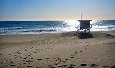 Zuma Beach in Malibu, CA.