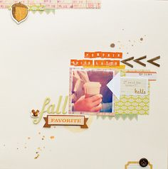 More wonderful fall Acorn Avenue pages over at the Crate Paper blog... this one's by Tami Gookstetter.
