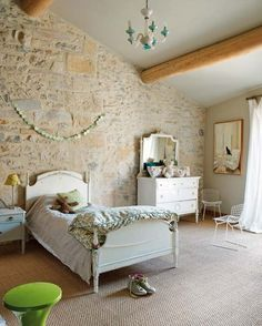 One Of Girl Bedroom In The Old Oil Mill_ A Charming Modern House: One Of Girl Bedroom In The Old Oil Mill_ A Charming Modern House
