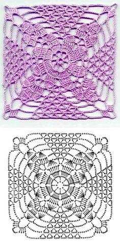 crochet patterns  ✿Teresa Restegui http://www.pinterest.com/teretegui/✿