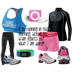 New running clothes - good inspiration to RUN.