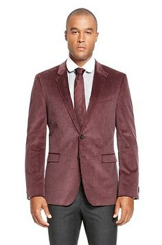 'Rhett'   Extra Slim Fit, Cotton Corduroy Sport Coat by BOSS