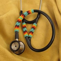 Native American Beaded Turquoise Stethoscope from www.wacici.com