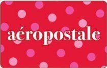 Aeropostale Polka Dots Gift Card