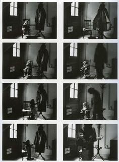 The Boogeyman by Duane Michals, 1973.