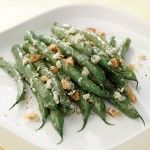 These green beans tossed with creamy blue cheese and topped with toasted walnuts pair well with grilled steak or chicken. http://blog.preventcancer.org/2013/healthy-recipe-blue-cheese-walnut-green-beans/