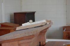 Time and dust Inside Providence Church, Georgia provid church