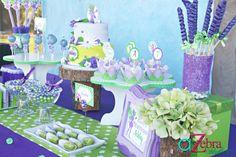 tinker bell desserts- http://atozebracelebrations.com/2013/01/tinker-bell-party.html