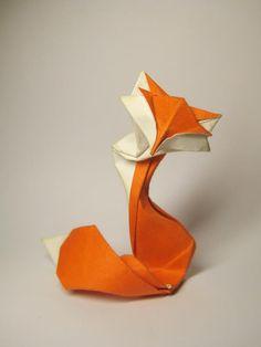 the folded fox