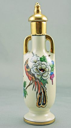 Noritake Art Deco Perfume Bottle