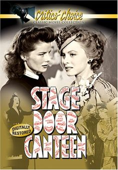 """An absolute MUST SEE classic film. """"Stage Door Canteen"""" (1943)"""