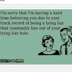 Liar hole