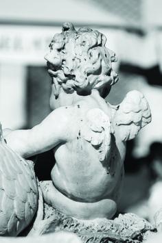 sculptur itali, cherub sculptur