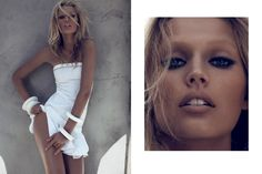 Toni Garrn for Numero 131, March 2012.  Follow Camilla's latest work on Facebook and Twitter