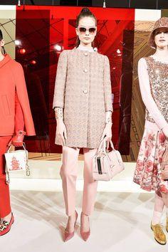 Kate Spade F/W 2014 spade fw, fashion weeks, fw 2014, runway, kate spade fall 2014, 2014 rtw, pink, new york fashion, place