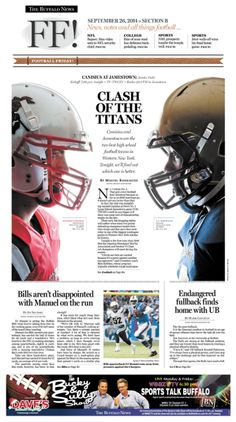 If our football team wins this Friday, THIS SPORTS COVER DESIGN.