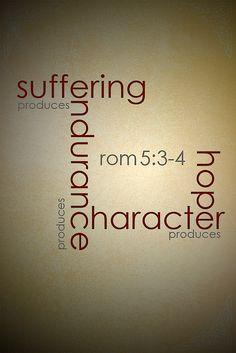 Romans 5:3-4