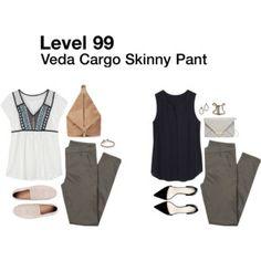 Veda Cargo Skinny Pant