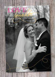 #wedding #thank you card
