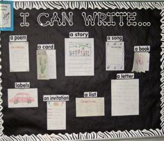 Writing goals-2nd grade. You could also use student work for exemplar pieces throughout the year.