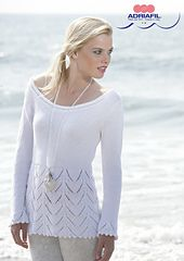 Free pattern on Ravelry: Adriafil pullover Diana by Adriafil Yarn