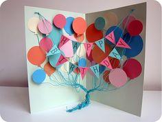 craft, happy birthdays, birthday banners, birthday boys, birthday balloons, happy birthday cards, balloon birthday, diy, card tutorials
